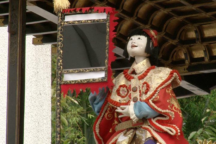 有松祭 布袋車のからくり人形