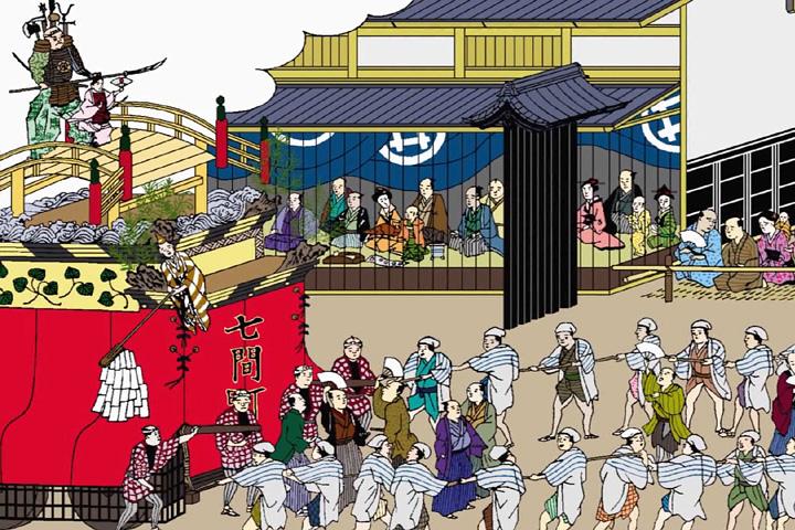 東照宮祭(尾張名所図会)