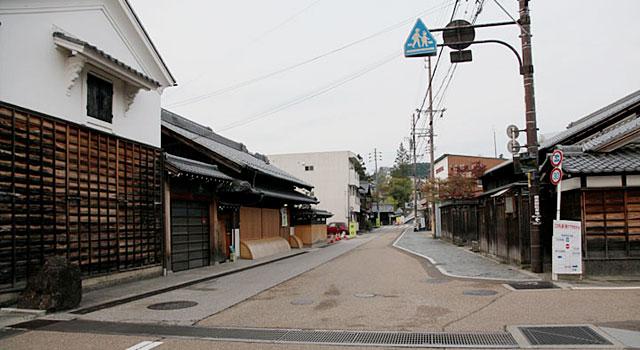 中山道 大井宿