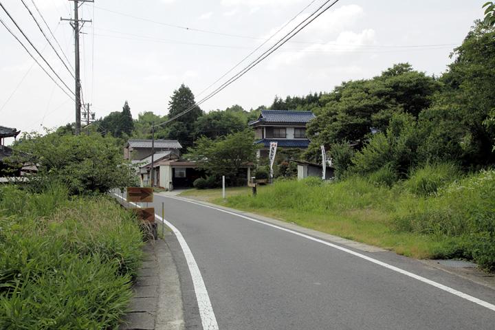 庚申堂前の中山道