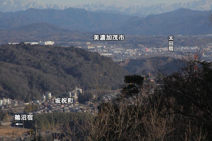 坂祝から太田宿へ