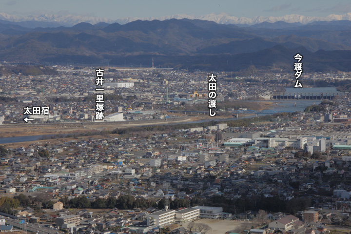 太田宿から太田の渡しへ