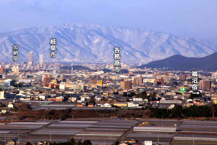 中山道(加納宿から鵜沼宿)