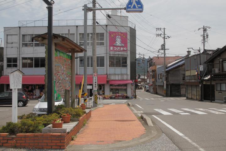 垂井宿東見附跡