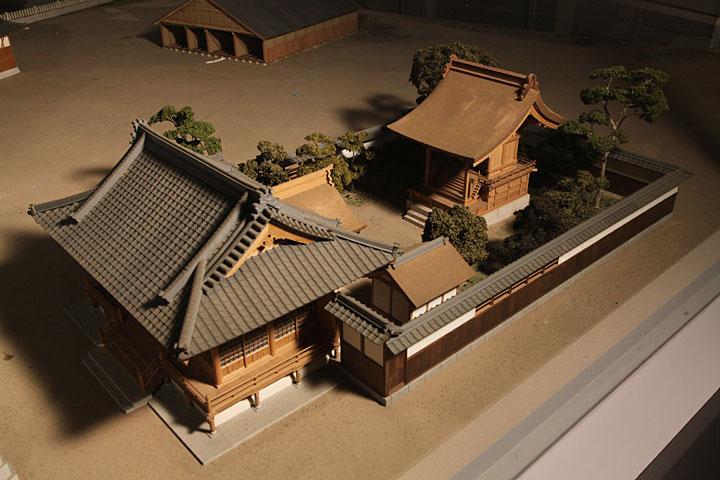 諏訪神社模型
