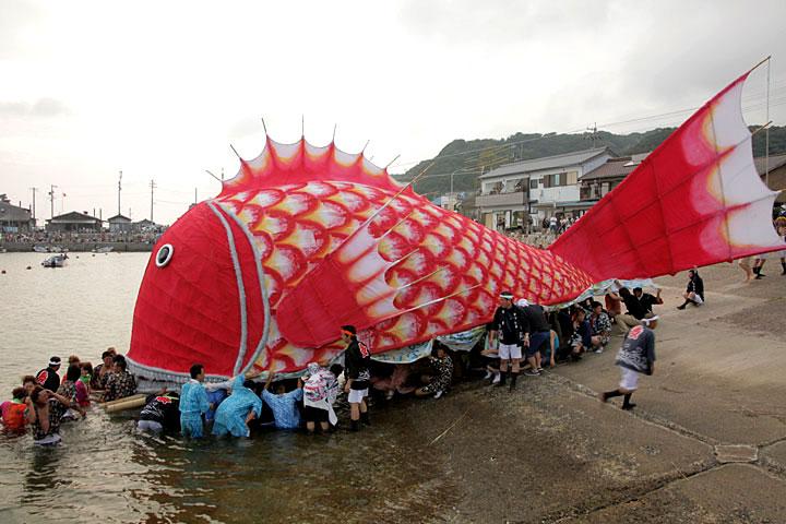 中洲の鯛まつり