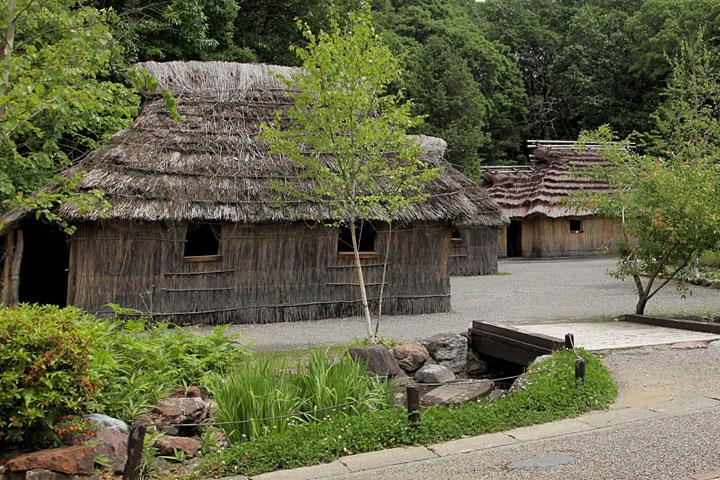 北海道 アイヌの家