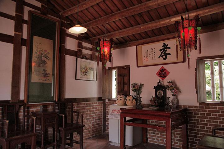 台湾 農家の家