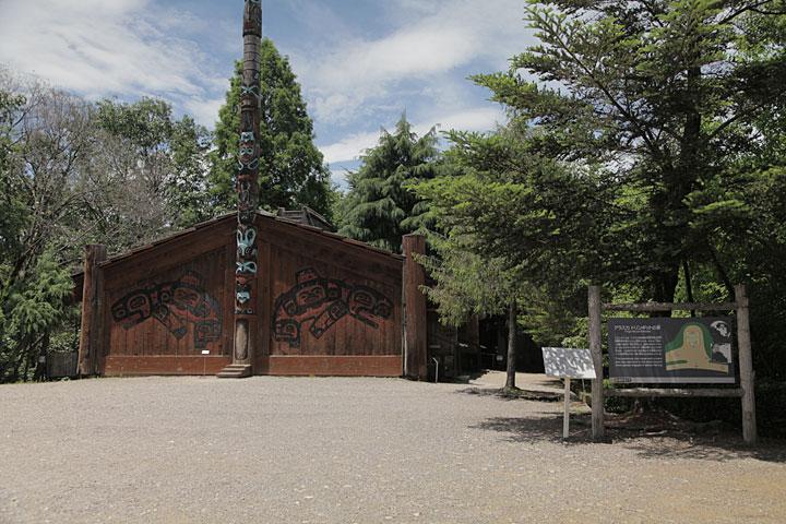 アラスカ トリンギットの家