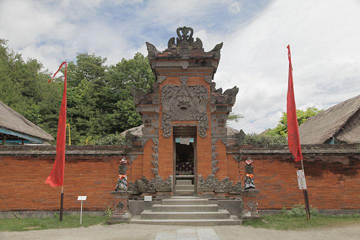バリ島 貴族の家