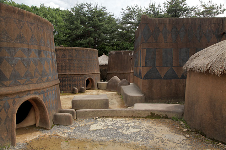 西アフリカ カッセーナの家