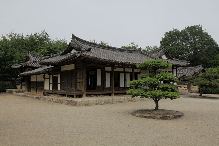 韓国 地主の家