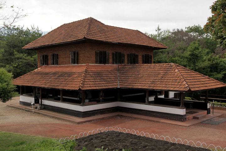 インド ケララ州の村