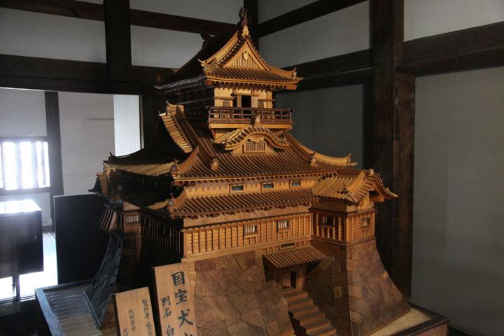犬犬山城模型(1階)