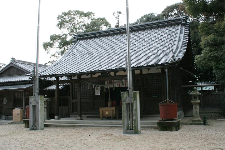 鵜森神社本殿