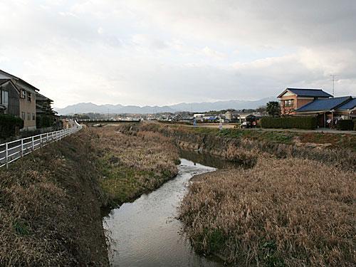 椋川と鈴鹿山脈