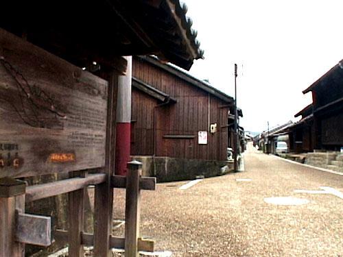 関宿東の追分