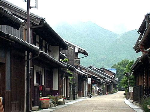 関宿西の入口付近