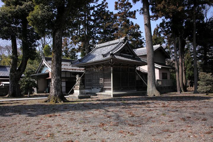 木曽神社本殿
