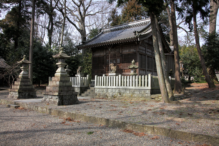 津島神社(二又)