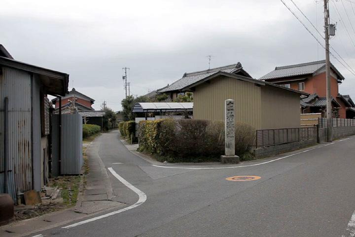 美濃路・駒塚道追分