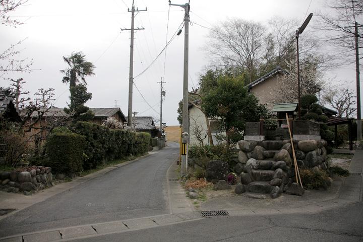 駒塚渡し場付近