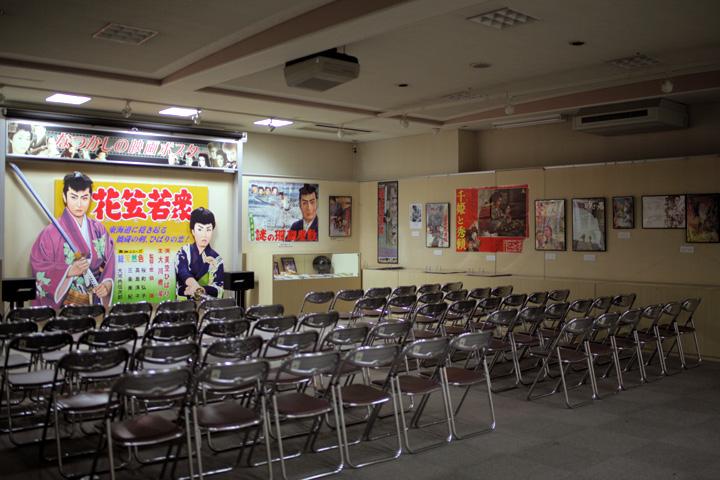 羽島市映画資料館展示