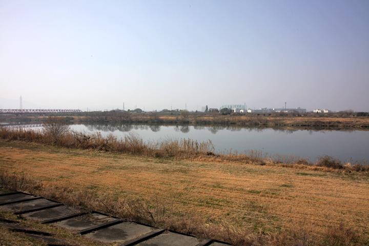 本郷の渡し(木曽川)