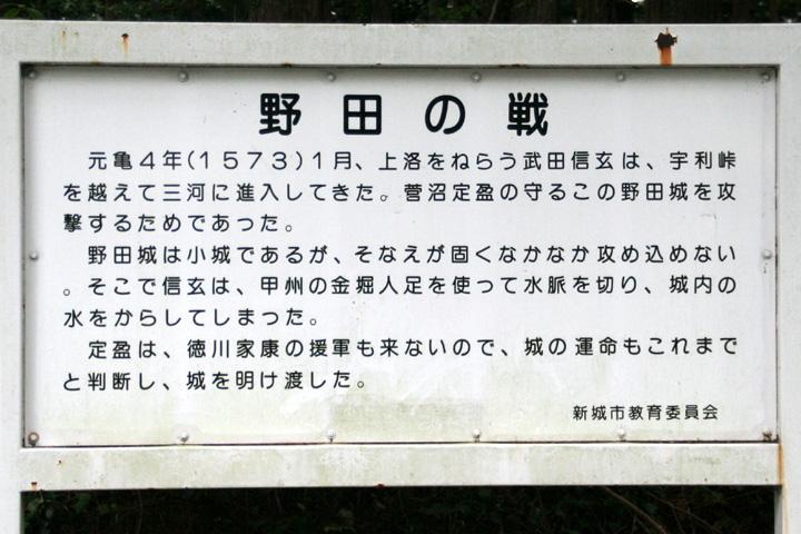 野田の戦い解説