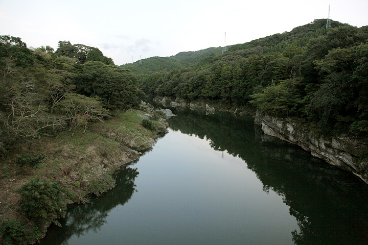 豊川上流(桜洲県立自然公園)