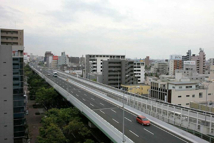 新洲崎JCT付近