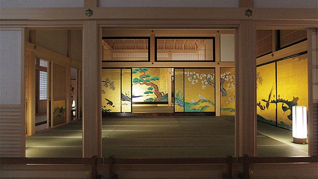 名古屋城本丸御殿 表書院 一之間、上段之間