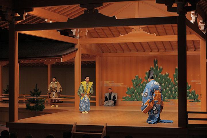 名古屋城本丸御殿復元記念狂言「夢つくり」(作:やまかわさとみ)の上演