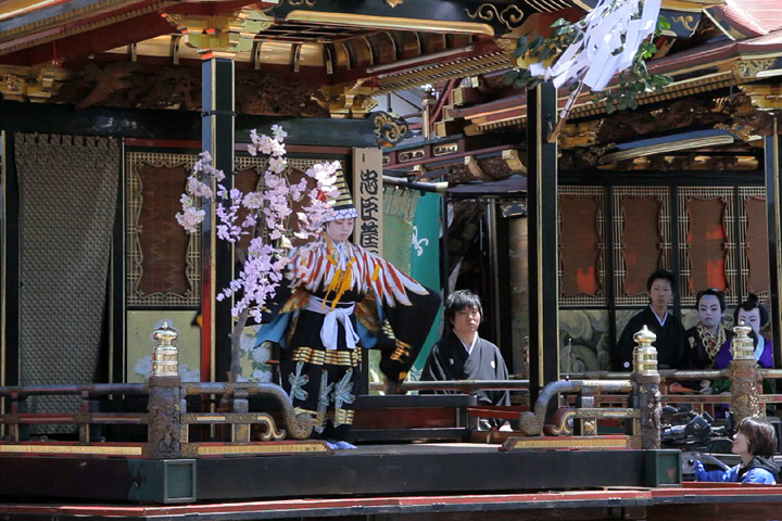 子供歌舞伎狂言「三番叟」