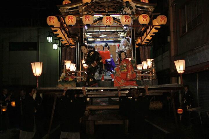 子供歌舞伎狂言「鬼一法眼三略巻」攀鱗閣(西町)
