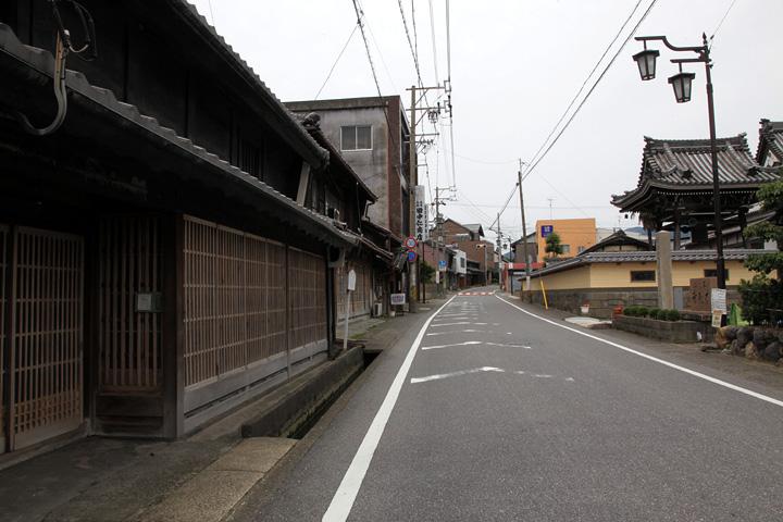 本龍寺付近の中山道