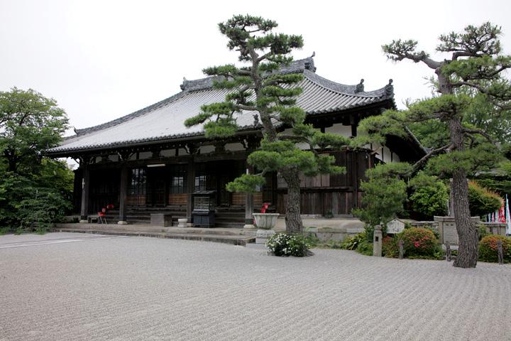 来迎寺 天台宗寺院、豪商三井家の菩提寺