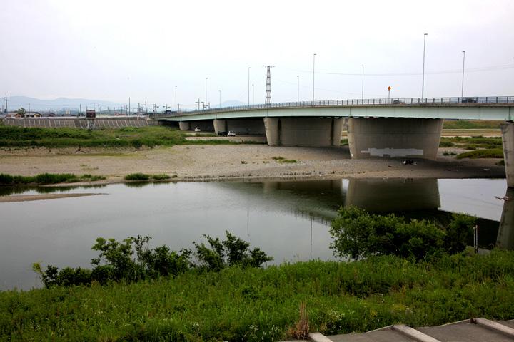 櫛田の渡し場跡