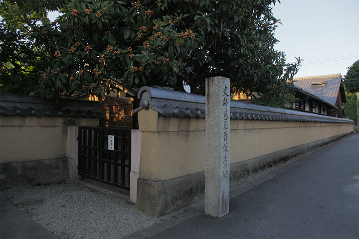 芭蕉生家 正保元年(1644)松尾与左衛門の次男として生まれた