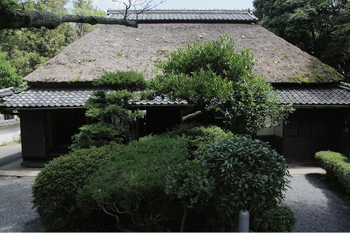 伊賀忍者屋敷 伊賀の土豪屋敷を上野公園内に移築