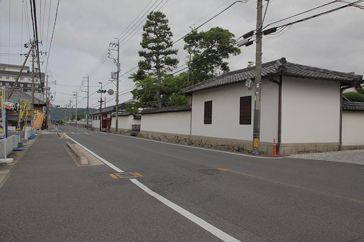 旧崇廣堂 文政4年の創建 藩校の遺構として全国的に稀な国の史跡