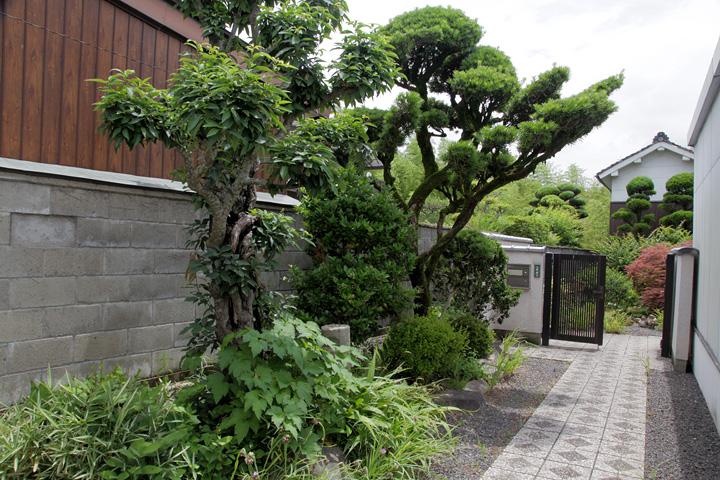 問屋場の庭園の一部