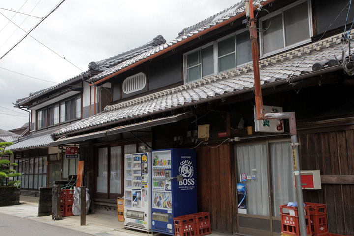 島ケ原宿の風景
