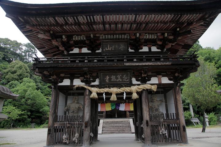 観菩提寺(正月堂)山門