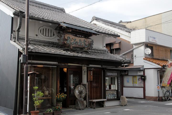 上野中町付近の町並み