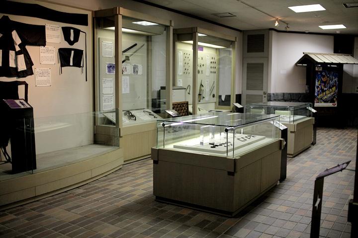 忍者体験館展示