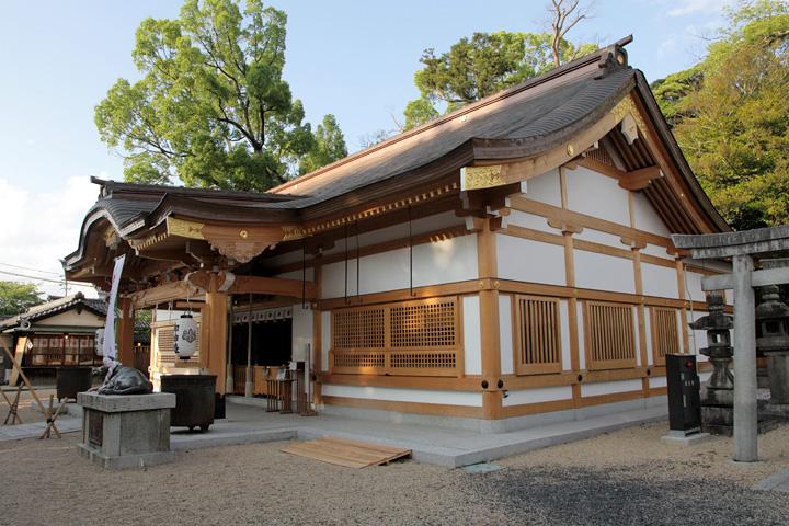菅原神社(上野天神宮)拝殿・本殿