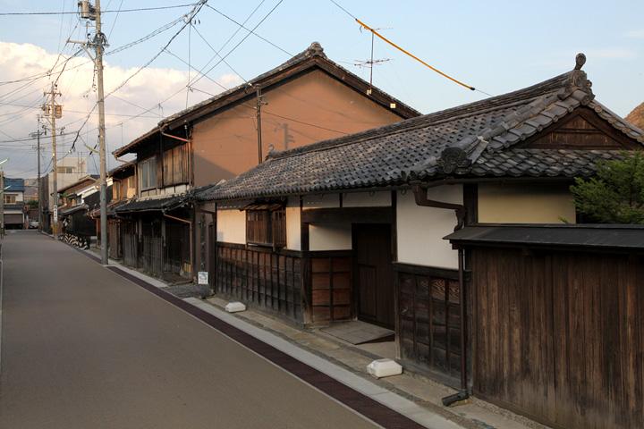 寛政(1789~1800)の頃、入交勘平が屋敷替えによって拝領した屋敷