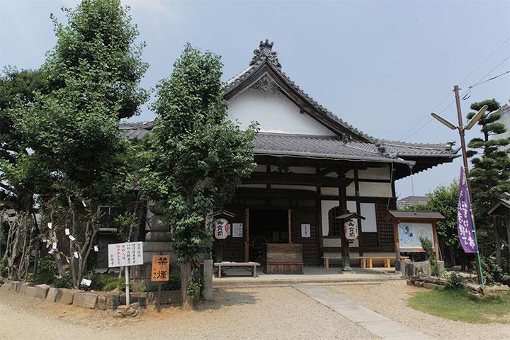 松本町会場にある松應寺