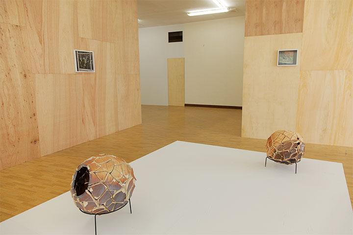 アリエル・シュレジンガー《Untitled (Inside out urns)》《The kids》